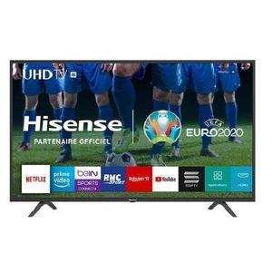 Hisense 50 Inch 4K Ultra HD Smart TV With DSTV Now App + Wall Bracket + 1 Year Warranty
