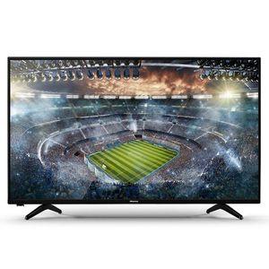 Hisense TV 40 B5100 - 40'' LED HD TV,2 HDMI, 2 USB DIVX,1 AV ,VGA-RGB,Black,Free Bracket