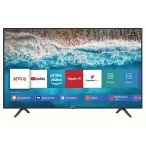 Hisense 55-Inch Smart UHD 4K TV 55 (2020) - Black, With FREE Wall Bracket With One Year Warranty