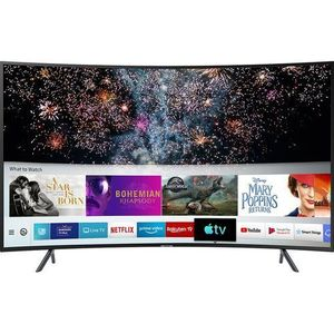 Polystar 32-Inches Smart Curved TV With Netflix (1year Warranty)