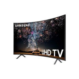 Samsung UN55RU7300FXZA Curved 55-Inch 4K UHD 7 Series Ultra HD Smart TV. 2019 Model