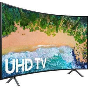 Samsung 49 Inch Curved UHD 4K Smart TV- Black
