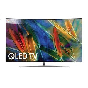 """Samsung 65"""" Q8C QLED Curved 4K UHD HDR 1500 Smart Quantum Dot TV"""