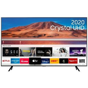 Samsung 65 Inch UHD Ultra Slim Class 2020 HDR+ Smart 4K TV
