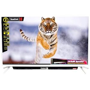 Scanfrost 40'' Television With Sound Bar