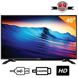 Sharp 40 Inch SHARP LED TV  - Black