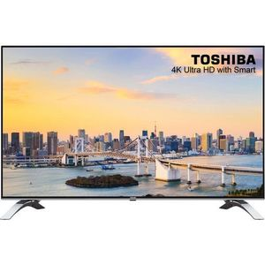 Toshiba 49-Inch  LED FHD Smart TV With (TV Guard And Wall Bracket)